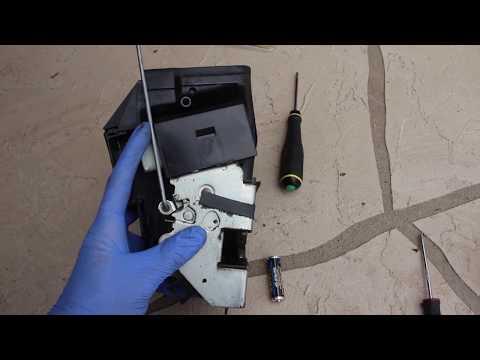 BMW E39 Door Actuator Replacement DIY