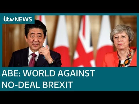 Avoiding no-deal Brexit is 'wish of the whole world', says Japan's Abe   ITV News