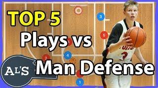 Top 5 Basketball Plays vs Man Defense