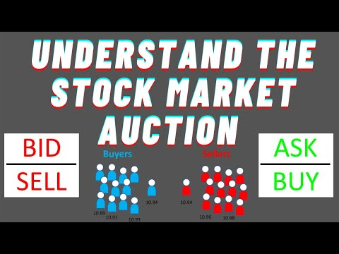 How The Stock Market Works || Auction Process