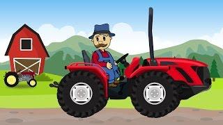 ☻ Apple Harvest |Farmer Farm Work | Zbiór Jabłek | Bajki Dla Dzieci - Rolnik ☻