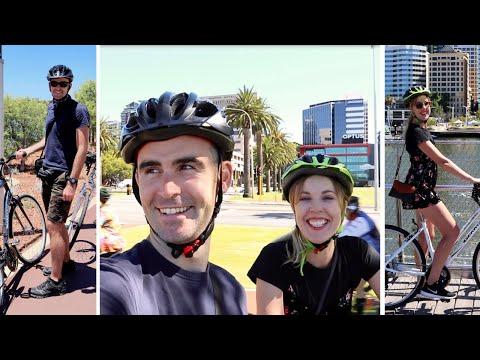 Best Way To See Perth, Australia? By Bike!!