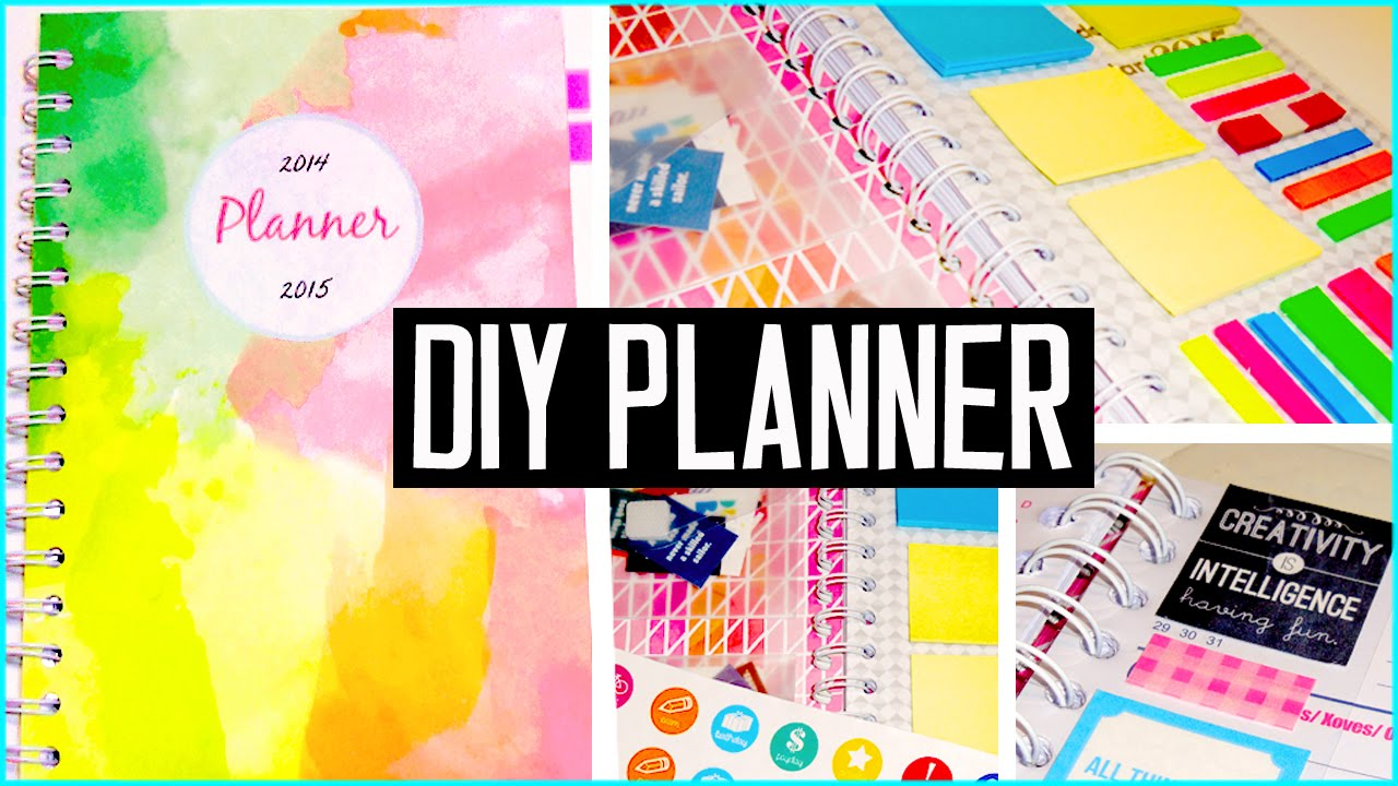 Diy Planner Cover Decorations Stickers More Diy Back