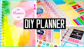 Diy Planner! Cover, Decorations, Dashboard, Stickers & More! Diy Supplies
