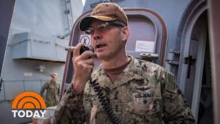 Navy Investigating Sudden Death Of Vice Admiral Scott Stearney   TODAY