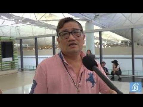市民劉先生機場送傷殘大哥遇阻被辱罵 斥示威者:惡過黑社會