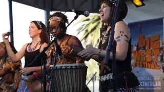 Suzie Mzuri with Afrovival @ The Big West Festival