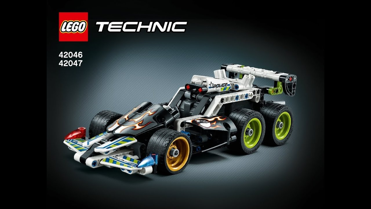 Lego Instructions Technic 42046 42047 Extreme Police Racer