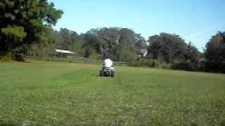 electric mini ride on working hard...