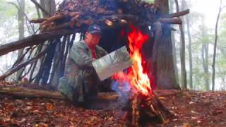 Life saveing shelters how to build one