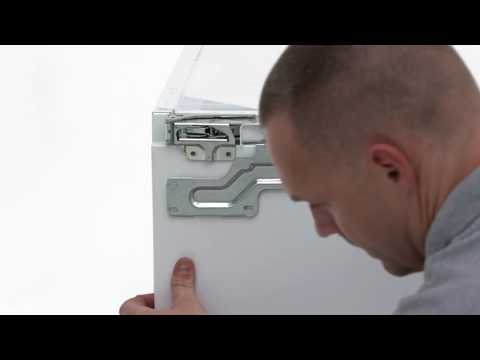 How To Install Your Electrolux Fridge - Built Under Installation
