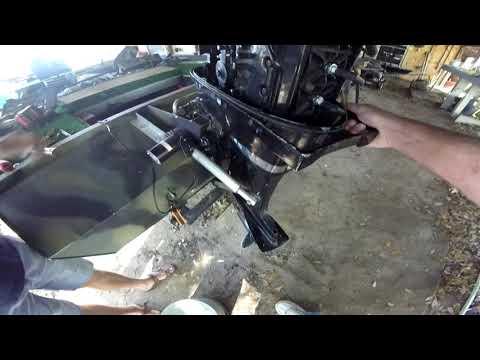 DIY Power trim/tilt  for old Mercury outboard motor