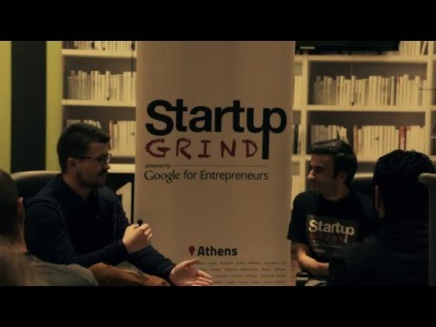 Startup Grind Athens Hosted Antonios Fiorakis (incrediblue)
