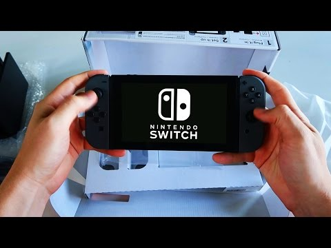 Thumbnail: NINTENDO SWITCH UNBOXING