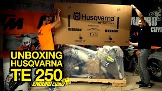 Unboxing 2016 Husqvarna TE 250