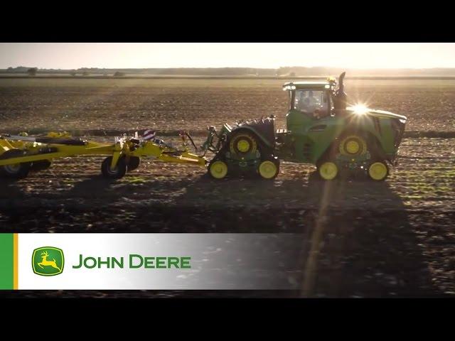 Journées John Deere tracteurs de forte puissance avec essai du 9RX