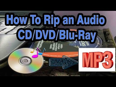 How to Rip Audio CD to Mp3/WMV/WAV Music Format Tutorial