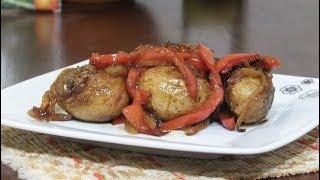 Невероятно Вкусный Рецепт Жареной Картошки - жареная картошка в соевом соусе