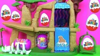 Видео для Детей! ВЕЗДЕ СПРЯТАНЫ СЮРПРИЗЫ! Киндер Сюрприз Игрушки Kinder Surprise Львиная Гвардия