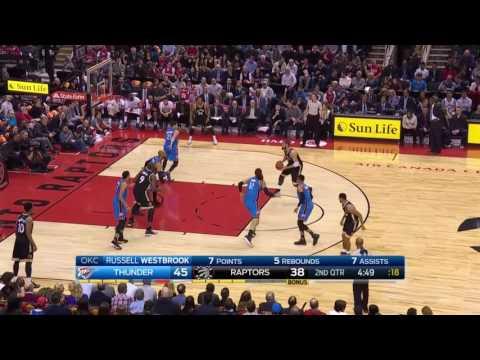 Oklahoma City Thunder vs Toronto Raptors    FULL HIGHLIGHTS    Mar 16, 2017    NBA
