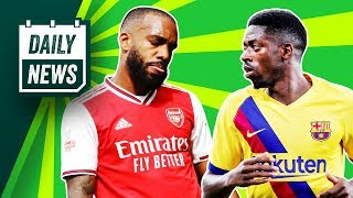 Arsenal SHOCKED by Brighton + Dembele on the move? ► Daily News