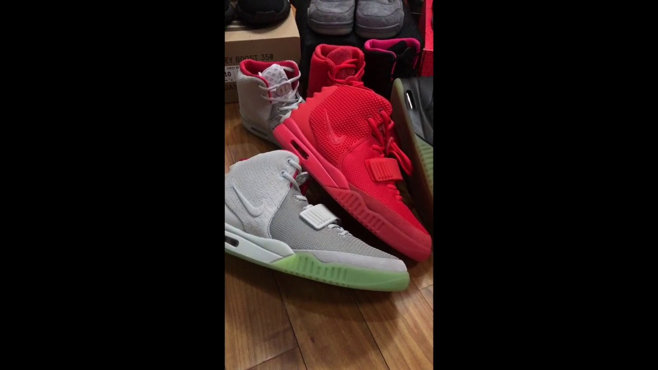 a2be89b77506c Replica Air Yeezy 2 NRG super max perfect - YouTube