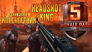PUBG MOBILE - SESSION 5 UPDATE NEW GUN MK47 AND OUTFITS || SNIPERS HEADSHOT KING || WAR CLAN || KCR