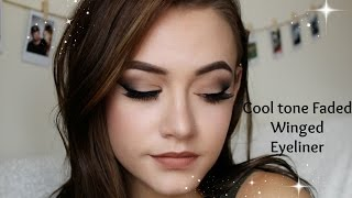Cool Tone Faded Winged Eyeliner - aaamymorgan
