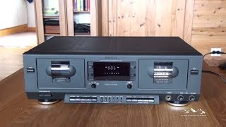 Philips FC930 Analog Double Auto-Reverse Cassette Deck