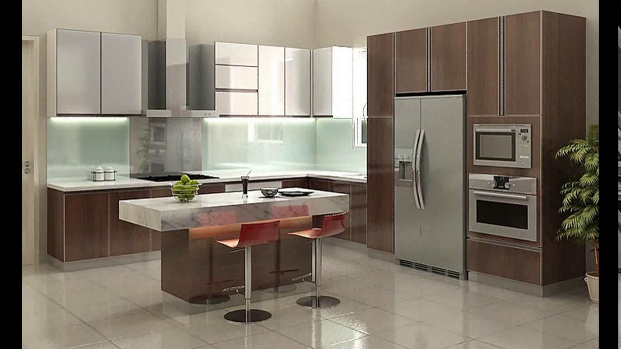Design Kitchen Set Mewah