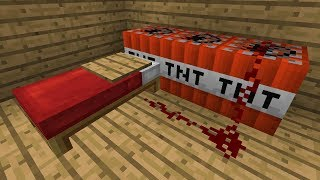 Minecraft   Cursed Images 08 (Uncomfortable Beds)