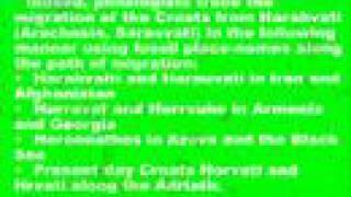 The Iranian Origin Of Croats - Philology