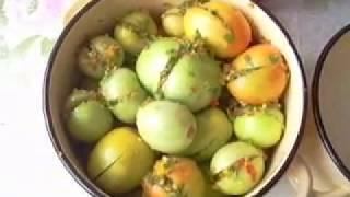 Острые зеленые помидоры