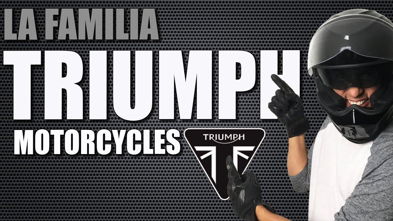 Triumph - 🏍  La familia al completo Ep.#46