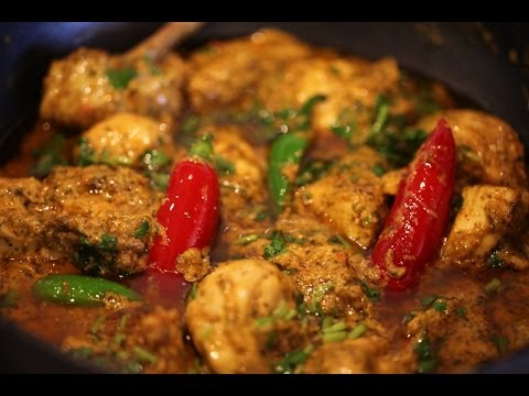 """ CHICKEN HARA MASALA "" Bajias Cooking"