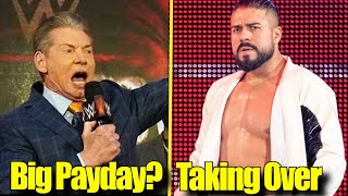 McMahon LOOKING FOR BIG PAY DAY? Andrade GOING TO TAKEOVER! RKBro BEST Thing On RAW! Roman Reigns