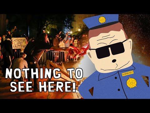 MOSTLY PEACEFUL Riots? Watch the Media DEFEND Radical Leftist Violence...