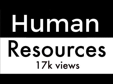 Human Resources Management Basic Concept In Urdu & Hindi 2017