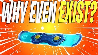 The Problem With The Driftboard In Fortnite Save The World
