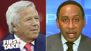 Robert Kraft called Stephen A. about Tom Brady leaving the Patriots | First Take