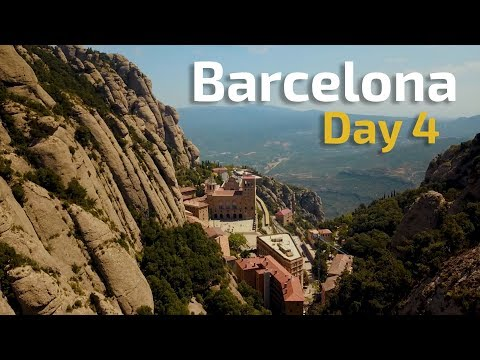 INCREDIBLE DRONE FOOTAGE IN SPAIN! | Barcelona Travel Vlog 2