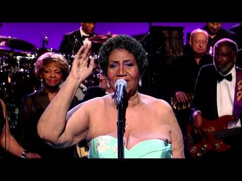 Aretha Franklin sings Rolling in the deep