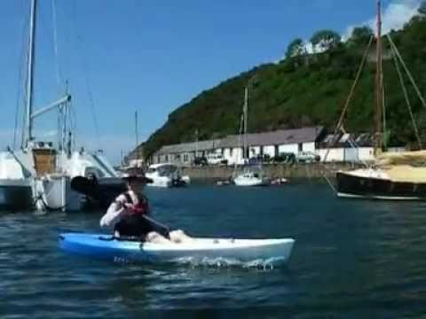 Kayaking at Fishguard harbour