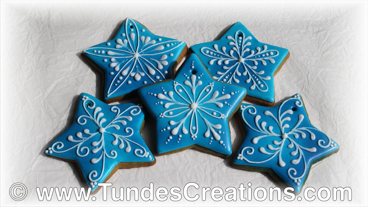 blue star gingerbread christmas ornaments - Gingerbread Christmas Ornaments