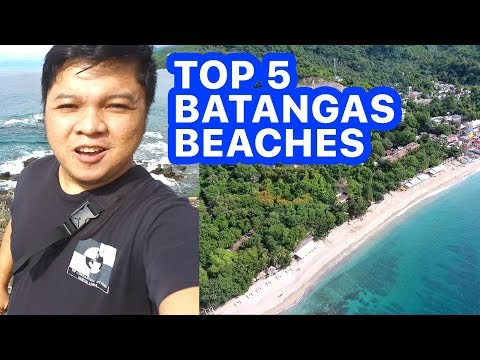 TOP 5 BATANGAS BEACHES IN 1 WEEKEND | Travel Goal #7