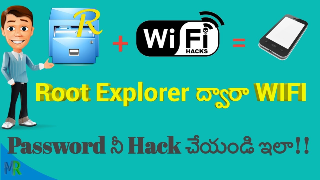 How To Hack WIFI Password By Using Root explorer apk app in Telugu By Mee  Rajesh