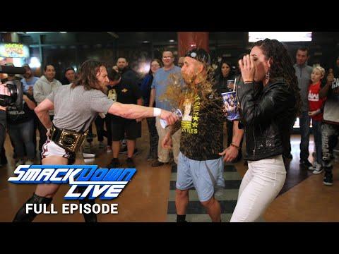 WWE SmackDown LIVE Full Episode, 8 January 2019