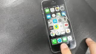 아이폰5s 나침반 고장