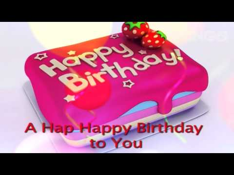 The Happy Birthday Song (Lyric Video)