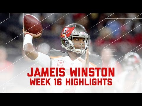 Jameis Winston Throws for 277 Yards & 2 TDs! | Buccaneers vs. Saints | NFL Week 16 Player Highlights